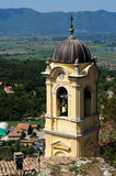 钟楼della chiesa di圣费利斯da cantalice,意大利 图库摄影
