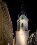 钟楼krems奥地利 库存照片