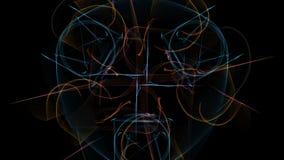 钟表机构, steampunk设计的黑暗的抽象 库存例证