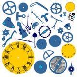 钟表机构结构 免版税库存照片