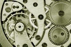 钟表机构 免版税图库摄影