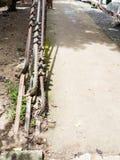 钢丝绳吊索 库存图片
