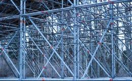 钢制框架结构 图库摄影