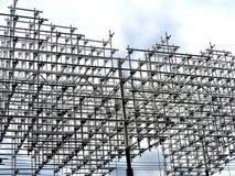 钢制框架 免版税图库摄影