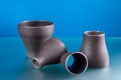 钢制焊接配件 免版税库存照片