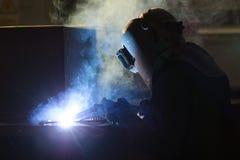 钢制焊接 库存图片