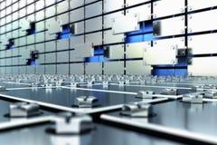 钢制的未来 免版税库存照片