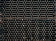 钢刺耳背景 免版税图库摄影