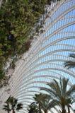 钢屋顶和植物 免版税库存照片