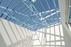 钢屋顶03结构  免版税库存图片