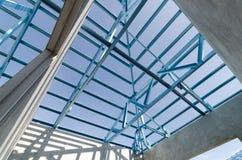 钢屋顶07 库存照片