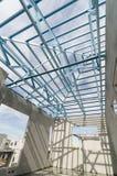 钢屋顶32 免版税库存照片