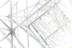 钢框架摘要背景 免版税库存照片