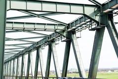 钢桥梁 免版税库存照片