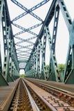钢桥梁 免版税图库摄影