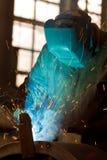 钢焊接 库存图片