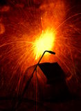 钢焊接 图库摄影