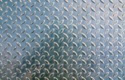 钢片纹理地板 免版税图库摄影
