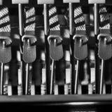 钢琴制音器mechanisim 库存图片