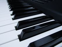 钢琴和键盘乐器 免版税库存图片