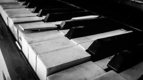 钢琴瓦片 免版税库存照片