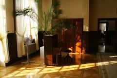 钢琴空间 免版税库存照片