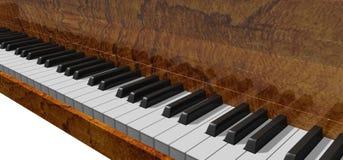 钢琴 皇族释放例证