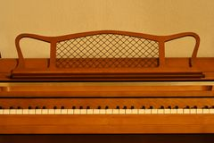 钢琴 图库摄影