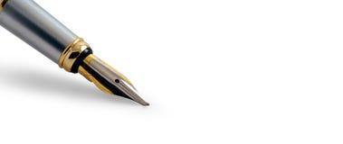 钢笔横幅 库存照片