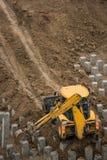 钢筋混凝土堆 库存图片