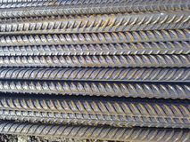钢筋混凝土的金属配件 免版税库存图片
