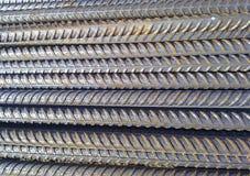 钢筋混凝土的金属配件 图库摄影