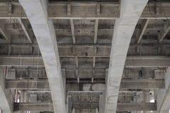 钢筋混凝土结构,难看的东西背景 库存照片