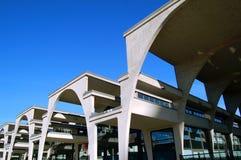 钢筋的结构混凝土 库存照片