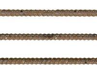 钢筋钢被填装的铁锈 库存图片