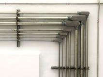 钢管接线 图库摄影