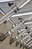 钢结构建筑框架  库存照片