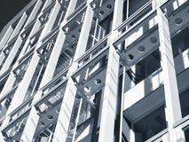 钢结构楼房建筑产业 库存图片