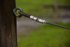 钢绳 库存图片