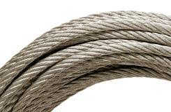 钢绳 免版税库存图片