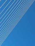 钢缆绳 库存图片