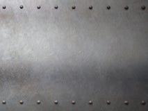 钢金属装甲有铆钉背景 皇族释放例证