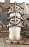 钢铁厂设备 免版税库存照片