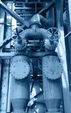 钢铁厂设备 图库摄影