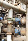 钢铁厂设备 免版税图库摄影