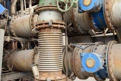 钢铁厂设备 库存图片