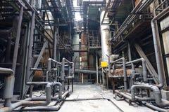 钢铁厂 免版税库存照片