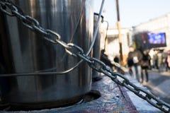 钢链子 图库摄影
