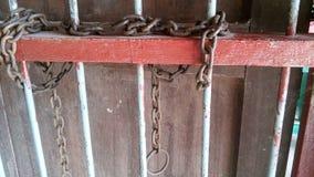 钢链子 免版税图库摄影