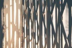 钢门 免版税图库摄影
